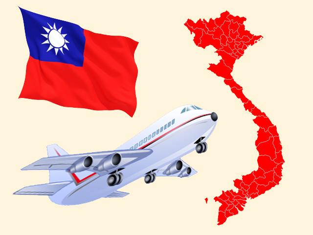 Gửi hàng bằng đường bay từ Việt Nam đi Đài Loan