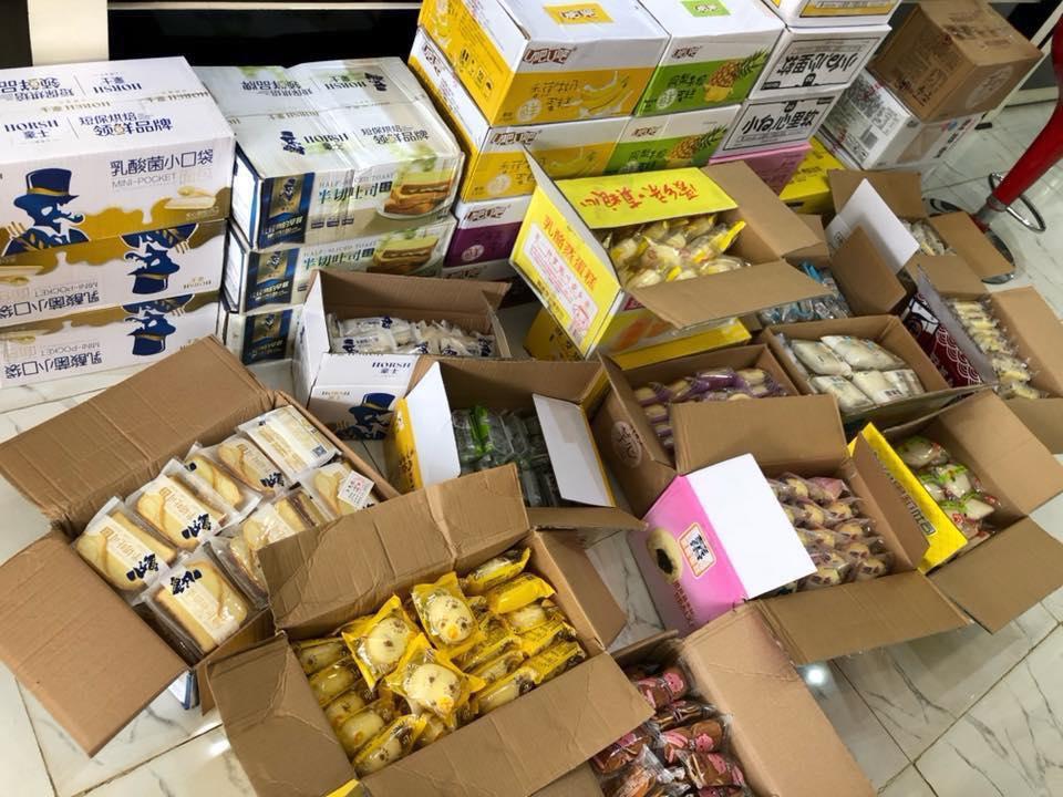 Dịch vụ order đồ ăn vặt hàng hóa từ Trung Quốc gây sốt