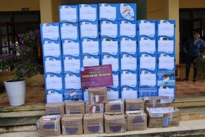 Chuyến hàng cứu trợ miền trung được vận chuyển chỉ trong 4h đồng hồ